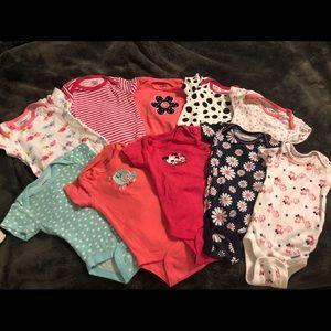 Baby Bodysuit bundle (10)